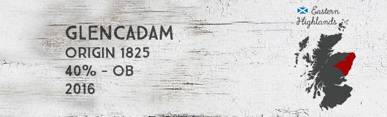 Glencadam – Origin 1825 – 40% – OB– 2016