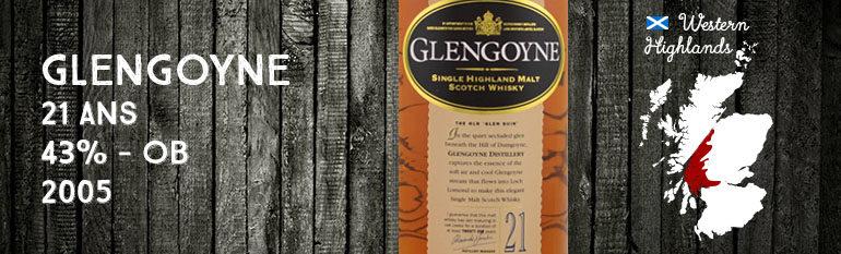 Glengoyne – 21yo – 43% – OB – 2005