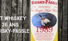 Irish Single Malt Whiskey - 1989/2015 - 26yo - 47.2 % - Whisky-Fassle