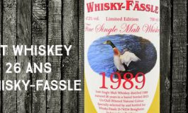 Irish Single Malt Whiskey - 1989/2015 - 26yo - 47.2 % - Whisky-Fassle