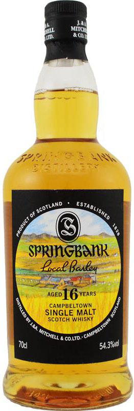 Springbank199916yoLocalBarleyOB