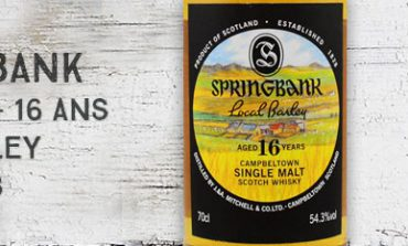 Springbank - 1999/2016 - 16yo - Local barley - 54,3% - OB