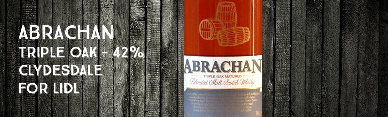 Abrachan – Triple oak – 42% – Clydesdale for Lidl France