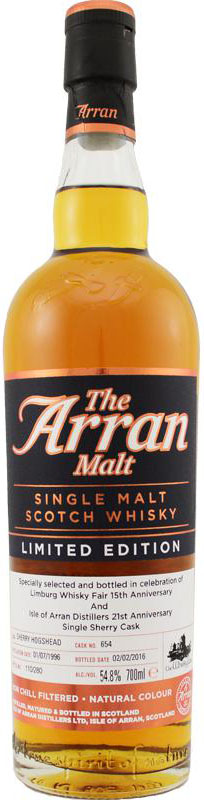 Arran1996Cask654OBforTheWhiskyFair