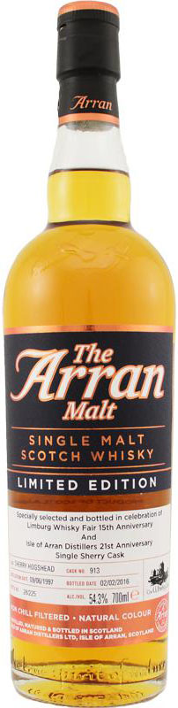 Arran1997Cask913OBforTheWhiskyFair
