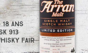 Arran - 1997/2016 - 18yo - Cask 913 - 54,3% - OB for The Whisky Fair