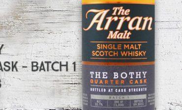 Arran - The Bothy - Quarter Cask - batch 1 - 55,7% - OB