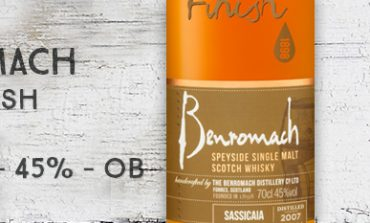 Benromach - Wood Finish - Sassicaia - 2007/2016 - 45% - OB