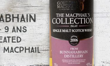 Bunnahabhain - 2006/2015 - 9yo - 43% - Unpeated - Gordon & MacPhail - The Macphail's Collection