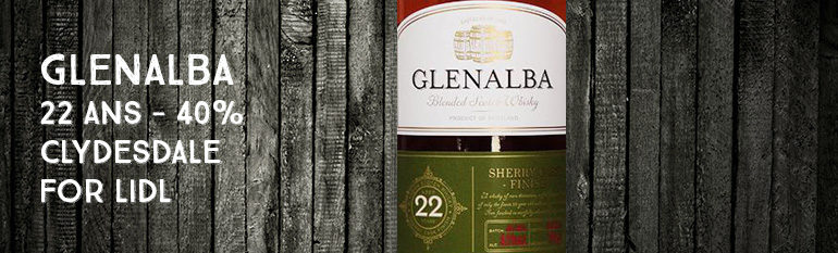 Glenalba – 22yo – 40% – Clydesdale for Lidl