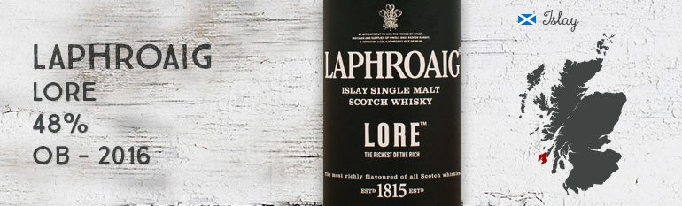 Laphroaig – Lore – 48% – OB – 2016