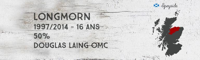 Longmorn – 1997/2014 – 16yo – 50% – Douglas Laing – Old Malt Cask