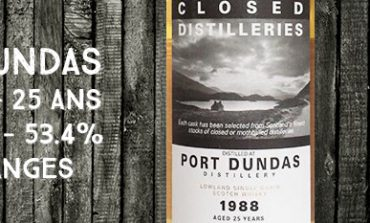 Port Dundas - 1988/2013 - 25yo - Cask 9889 - 53,4% - Part Des Anges