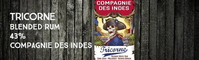 Tricorne – 43% – Compagnie des Indes – blend – 2016