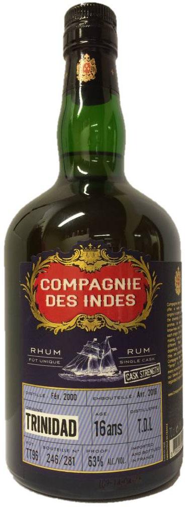 Trinidad 16yo TT96 Compagnie Des Indes