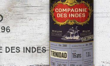 Trinidad - 2000/2016 - 16yo - TT96 - 63% - Compagnie des Indes - Trinidad & Tobago