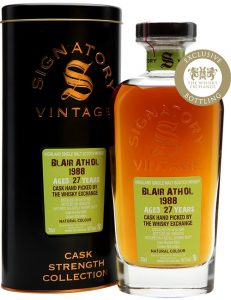 Blair Athol 1988 27yo Signatory Vintage The Whisky Exchange