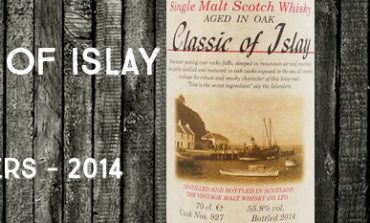 Classic of Islay - Cask 927 - 55,8% - Jack Wiebers - 2014