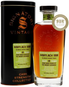 Mortlach 1998 18yo Signatory Vintage The Whisky Exchange