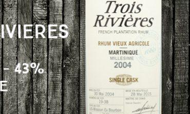 Trois Rivières - 2004/2015 - Cask 19-38 - 43% - Martinique
