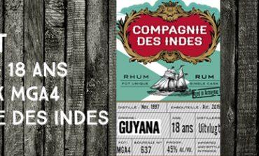 Uitvlugt - 1997/2016 - 18yo - MGA4 - 45% - Compagnie des Indes - Guyana