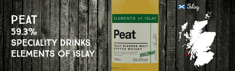 Peat – 59,3% – Speciality Drinks Ltd – Elements of islay