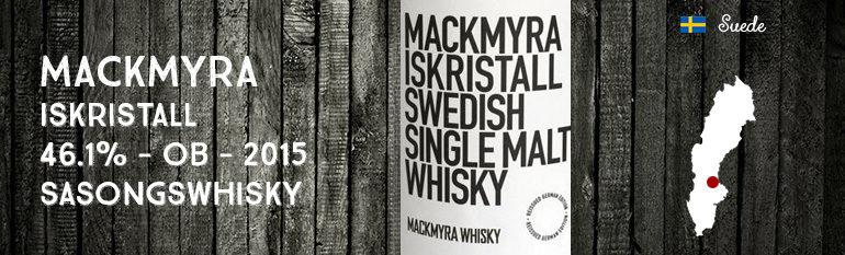Mackmyra – Iskristall – 46,1% – 2015 – OB – Sasongswhisky
