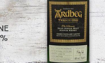 Ardbeg - Twenty One - Committee Release - 21yo - 46% - OB - 2016