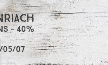 Benriach - 16yo - 40% - OB - 2014/05/07