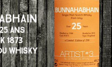 Bunnahabhain - 1988/2014 - 25yo - 49,2% - Cask 1873 - La Maison du Whisky - Artist#3 - Batch 2