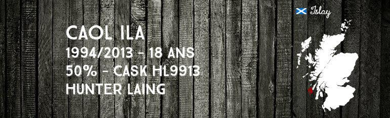 Caol Ila – 1994/2013 – 18yo – 50% – Cask HL9913 – Hunter Laing – Old Malt Cask