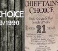 Chieftain's Choice - Speyside - 1969/1990 - 21yo - 50% - Ian MacLeod