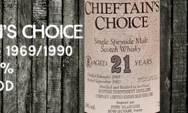 Chieftain's Choice - Speyside - 1969/1990 - 21yo - 50% - Ian MacLeod