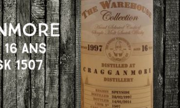 Cragganmore - 1997/2014 - 16yo - 58,1% - Cask 1507 - The Whisky Warehouse n°8 - The Warehouse Collection