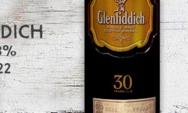Glenfiddich - 30yo - 43% - batch 00022 - OB