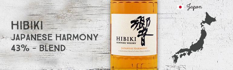 Hibiki – Japanese Harmony – 43% – Blend