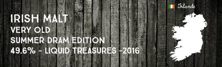 Irish Malt – Very Old – Summer Dram Edition – 49,6% – Liquid Treasures – 2016