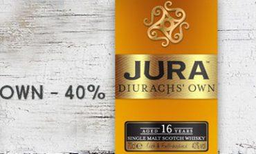 Jura - 16yo - Diurachs' Own - 40% - OB - 2016