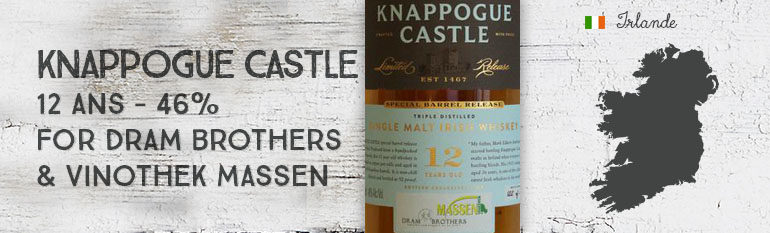 Knappogue Castle – 12yo – 46% – for Dram Brothers & Vinothek Massen