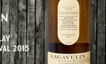 Lagavulin - 55,4% - OB for Islay Jazz Festival 2015