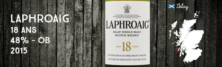 Laphroaig – 18yo – 48% – OB – 2015