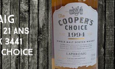 Laphroaig - 1994/2015 - 21yo - 46% - Cask 3441 - Cooper's Choice