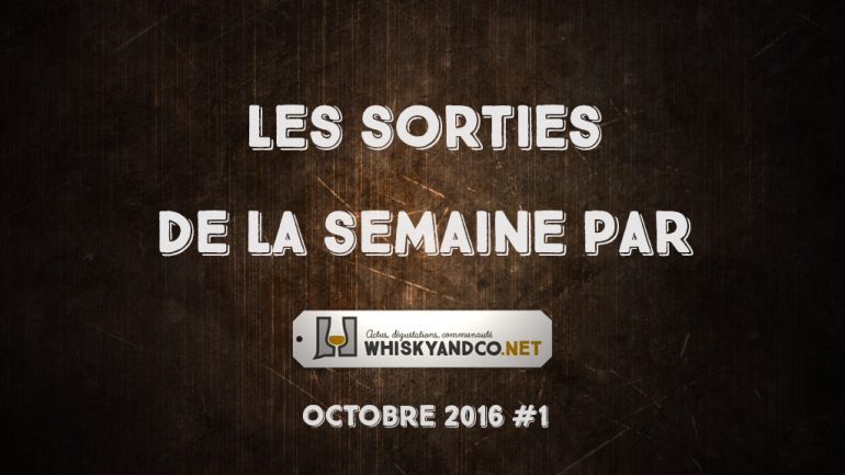 Les sorties de la semaine : octobre 2016 #1
