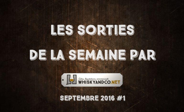 Les sorties de la semaine : septembre 2016 #1