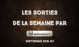 Les sorties de la semaine : septembre 2016 #2