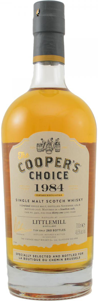 littlemill-1984-cask-3901-coopers-choice-for-la-boutique-du-chemin