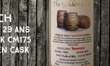 Teaninich - 1982/2012 - 29yo - 51,1% - Cask CM175 - The House Of MacDuff - The Golden Cask