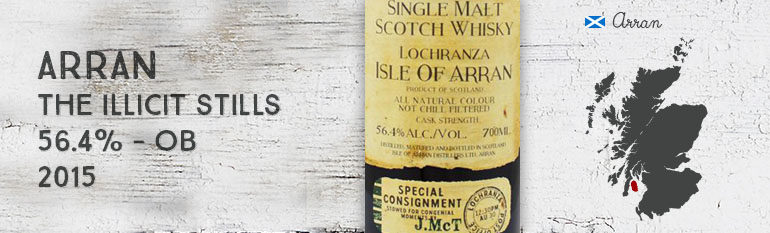 Arran – The Illicit Stills – Smugglers' series Vol 1 – 56,4% – OB – 2015