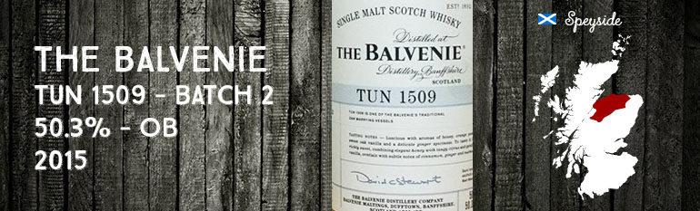 Balvenie – Tun 1509 – Batch 2 – 50,3% – OB – 2015