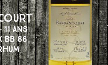 Barbancourt - 2004/2016 - 11yo - 46% - Cask BB86 - Whisky & Rhum - L'esprit - Haïti
